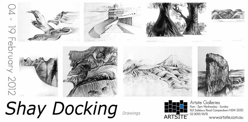 Shay Docking (1928-1998) - The Drawings 04 - 19 February 2012, Artsite Exhibition Archive.