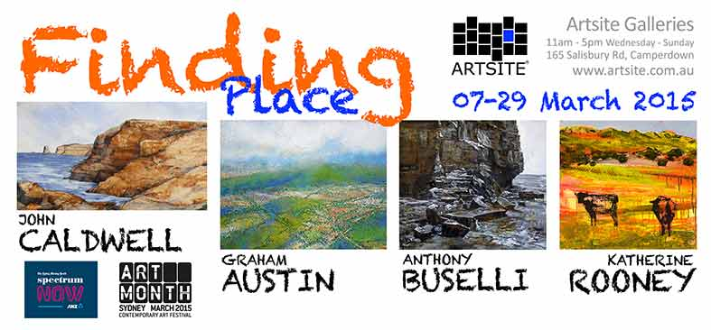 Finding Place, 07 March - 29 March 2015, Artsite Galleries exhibition archive
