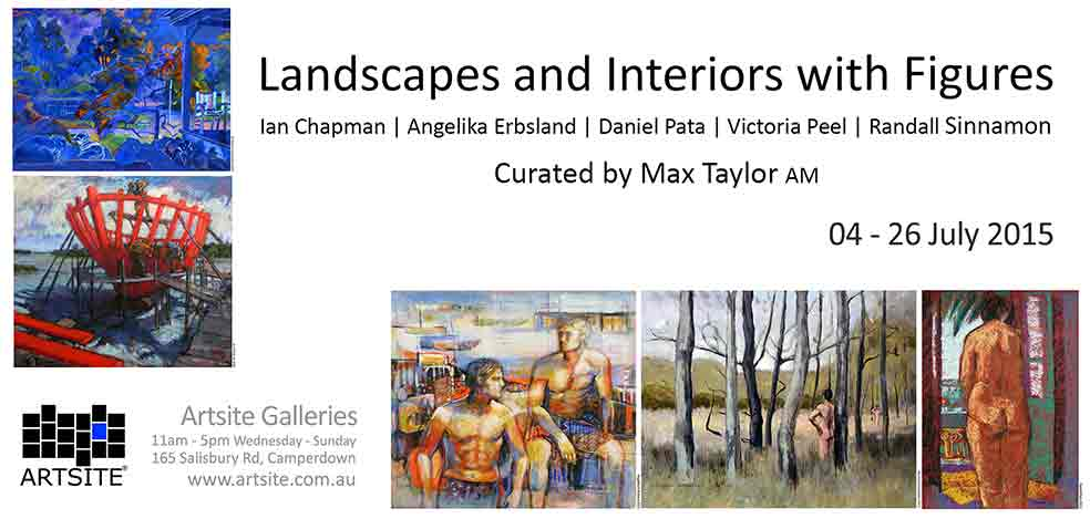 Landscapes and Interiors with Figures, 04 - 26 July 2015, Artsite Galleries exhibition archive