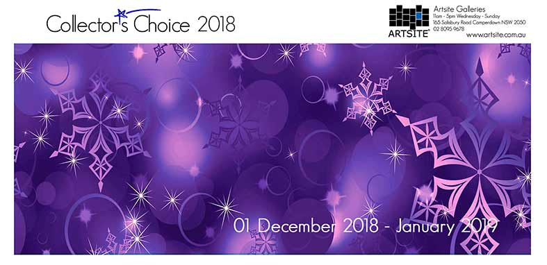Collectors Choice 2018, 01 December 2018 - 26 January 2019, Artsite Galleries exhibition archive.